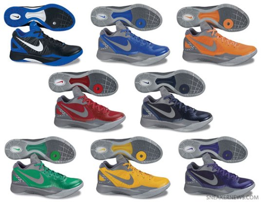 Nike Zoom Hyperdunk 2011 Low PE – Spring 2012 Preview