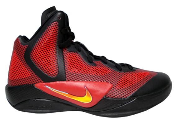 06a180416bfc Nike Zoom Hyperfuse 2011 - Black - Blue + Black - Red - SneakerNews.com