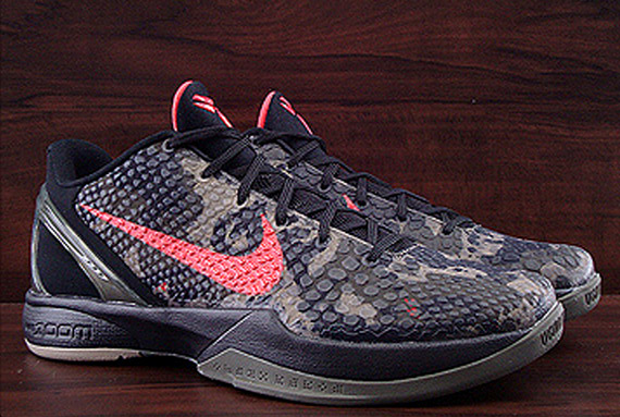 nike zoom kobe vi italian camo available early on ebay