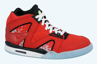 more photos f9b40 bb689 Nike Air Tech Challenge Hybrid Color  Challenge Red Black-White Style Code   653873-600