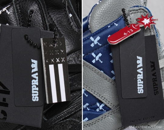 Supra Skytop II 'Flag Pack' – Release Info