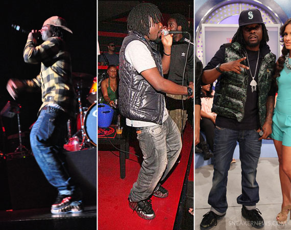 Wale Hints at Possible Nike Foamposite