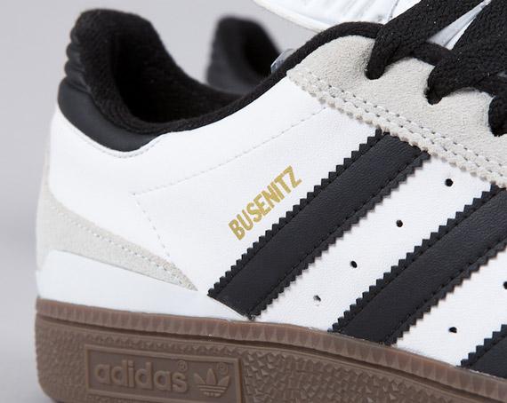 adidas Busenitz – White – Black – Gum