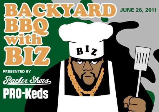 Packer Shoes x PRO-Keds Backyard BBQ with Biz Markie