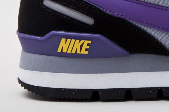 Nike Waffle Trainer – Summit White – Varsity Purple – Black