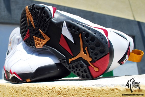 107bc26ad123 Air Jordan VII Retro  Cardinal  2011 – New Photos