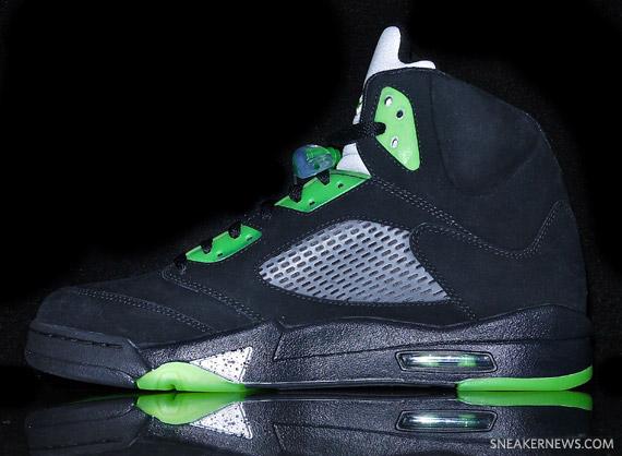 Air Jordan V Quai 54 - Black - Detailed Images - SneakerNews.com f5e764270
