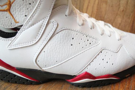 sale retailer 0a513 acd72 Air Jordan VII  Cardinal  2011 Retro – New Photos