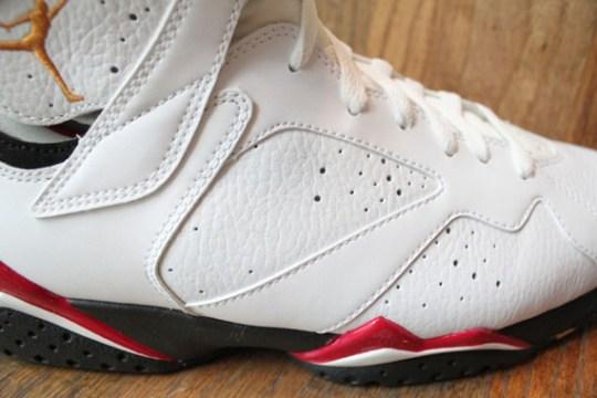Air Jordan VII 'Cardinal' 2011 Retro – New Photos