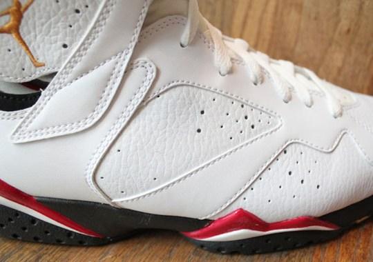 detailed pictures 56aa9 9c331 Air Jordan VII Cardinal - SneakerNews.com