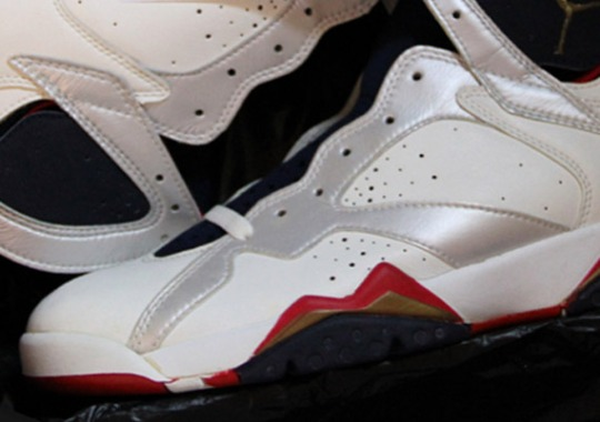 Air Jordan VII 'Olympic' OG Available on eBay