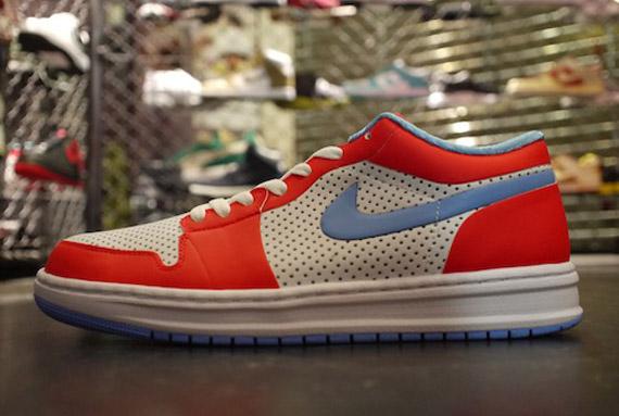 Air Jordan Alpha 1 Low Red White Blue