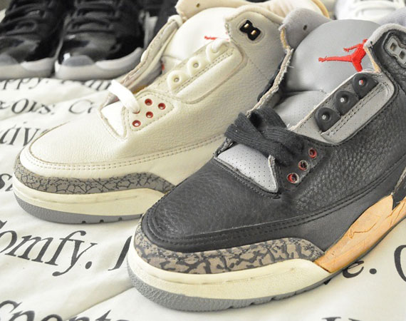 buy online ea6c9 f30ce Air Jordan III - White + Black Cement | OG Shoes on eBay ...
