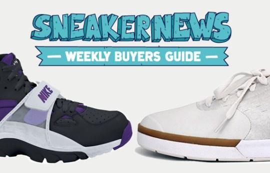 Sneaker News Weekly Buyer's Guide: 6/2/11