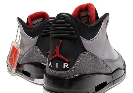 Air Jordan 3 Retro 'Stealth' – New Images
