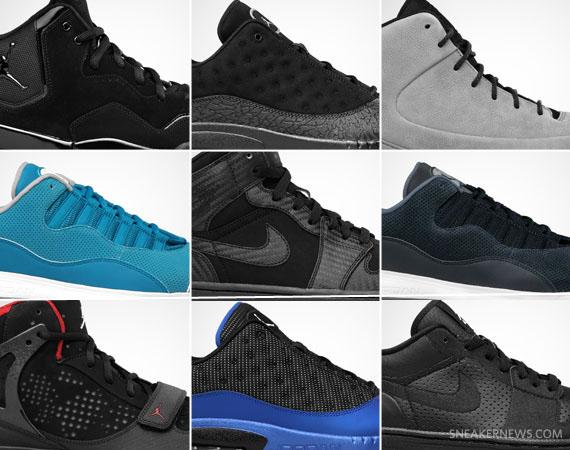 Jordan Brand August 2011 Footwear Releases - SneakerNews.com 282dfe570