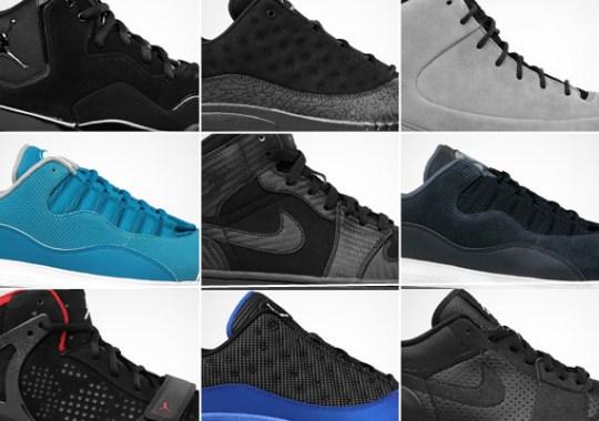 Jordan Brand August 2011 Footwear Releases