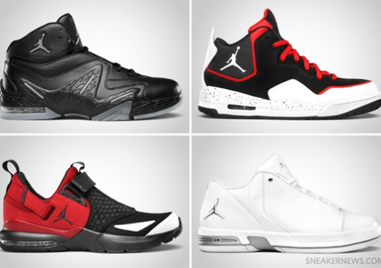 Jordan Brand August 2011 Footwear Releases Update
