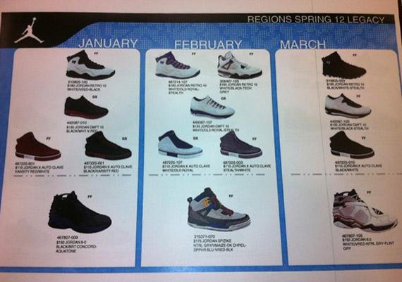 63e5e8577 Jordan Brand Spring 2012 Preview - SneakerNews.com