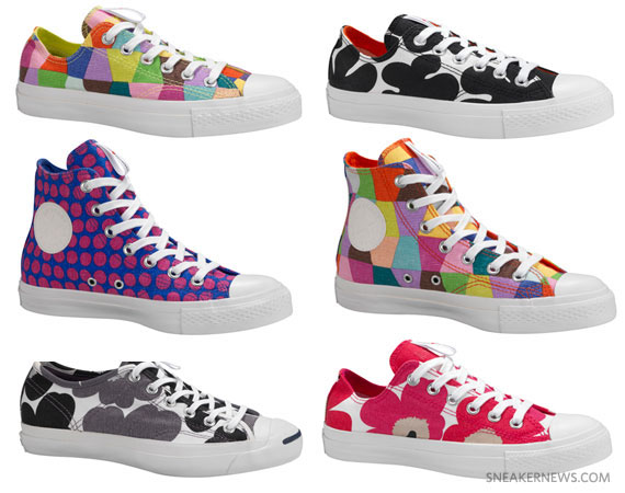 885009eecf1a Marimekko x Converse Fall 2011 Footwear Collection - SneakerNews.com