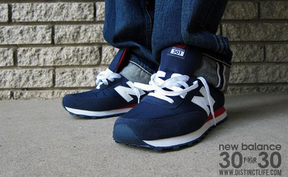 new balance 501 on feet