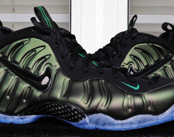 89c1ba11688c5 Nike Air Foamposite Pro – Dark Pine Green