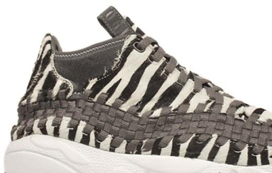 Nike Air Footscape Woven Chukka – Zebra