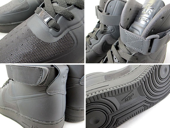 finest selection 4cfb4 d5ef9 Nike Air Force 1 High Fuse - Midnight Fog   New Images - SneakerNews.com