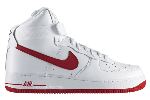 nike air force varsity red