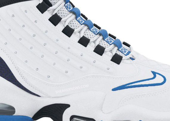 competitive price be761 04a03 outlet Nike Air Griffey Max II White Black Blue