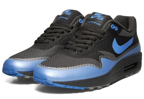 air max 1 black and blue