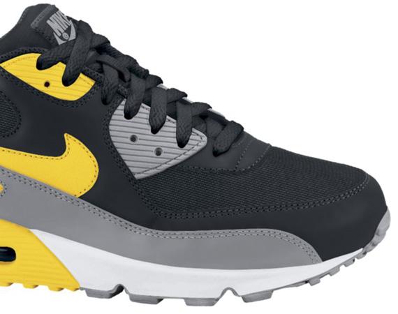 Nike Air Max 90 \u2013 Black \u2013 Varsity Maize \u2013 White | Available - SneakerNews.com