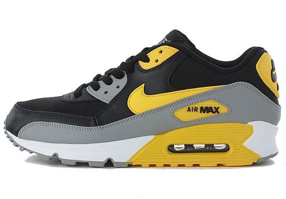 Nike Air Max 90 - Black - Grey - White