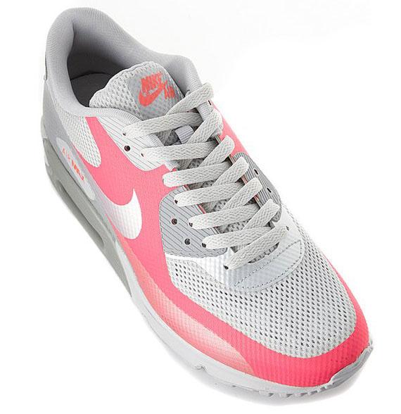 nike air max 90 grey and pink