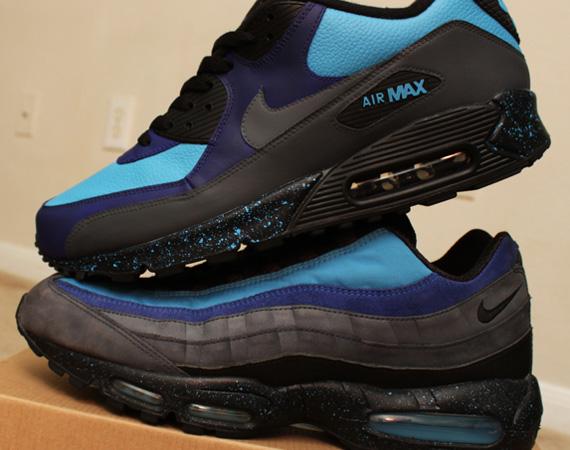 Nike Air Max 90 'Stash' Customs