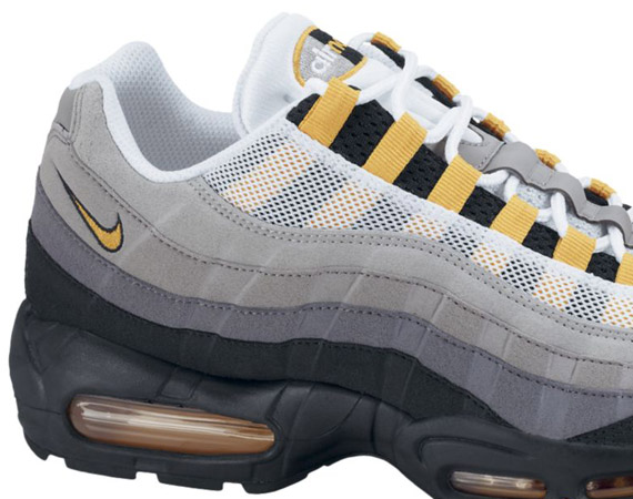 Nike Air Max 95 - Neutral Grey - Varsity Maize | September 2011 - SneakerNews.
