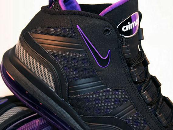 cheap Nike Air Max Sensation 2011 Black Purple