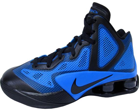 Nike Air Shox Hyperballer - Black - Photo Blue - SneakerNews.com 549a2379c