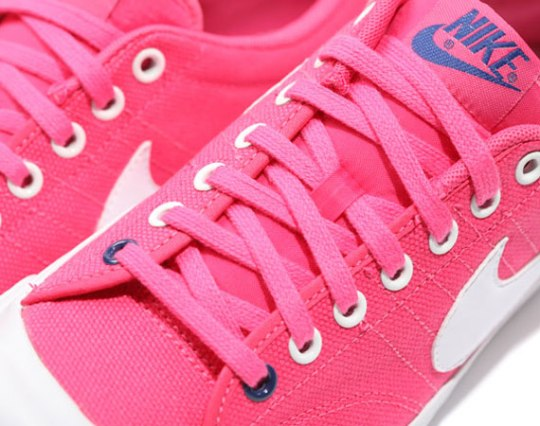 Nike All Court Low Canvas – Pink – White