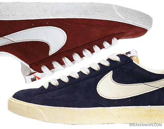 Nike Blazer Low Premium July 2011 Colorways