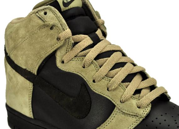 online store b420b 6bfa4 Nike Dunk High - Khaki - Velvet Brown - Black - SneakerNews.com