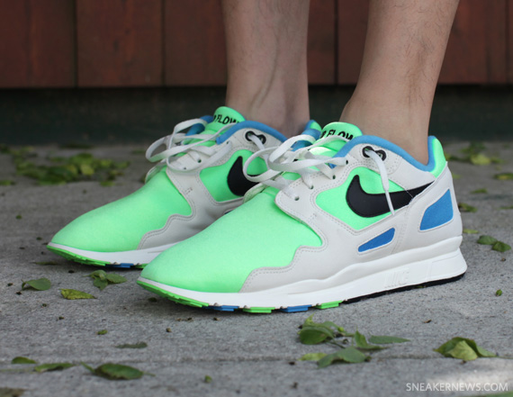 Nike Air Flow TZ - Bright Cactus - Black - Blue Glow - SneakerNews.com b8993c75b1