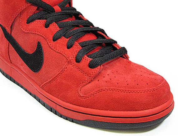 pretty nice 3e908 5d29d Nike SB Dunk High  Red Devil  - SneakerNews.com