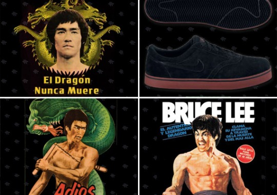 Nike SB P-Rod x Bruce Lee Collection