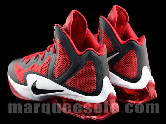 new product 68c29 ec339 Nike Shox Hyperballer – Black – Red – White