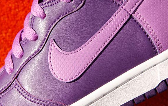 Nike WMNS Dunk High - Club Purple - Bright Violet - White ... 622dedb4feee