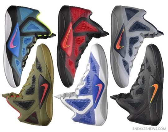 Nike Zoom Hyperfuse 2011 – Available @ NikeStore