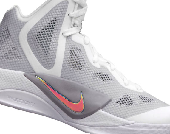 858486e246eb Nike Zoom Hyperfuse 2011 – White – Metallic Luster – Wolf Grey – Volt