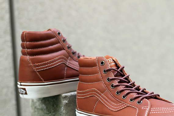 Vans California Sk8-Hi Reissue  Ginger Bread  - SneakerNews.com 04f5c836ee
