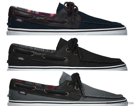 The Classic Vans This Fall: 'Boat Shoes'